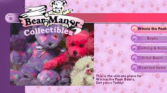 bear manor of petaluma web site design